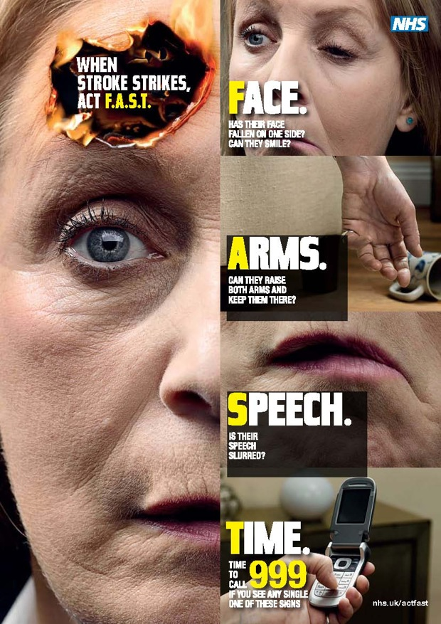 Fast Aid Birmingham Solihull: Recognising A Stroke – The Fast Test