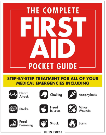 Book Cover of The Complete First Aid Pocket Guide by John Furst