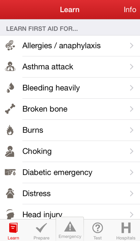 The Best Free First Aid Apps For Ios8 First Aid For Free