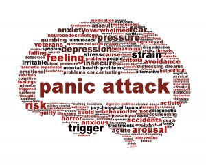 First aid for panic attacks
