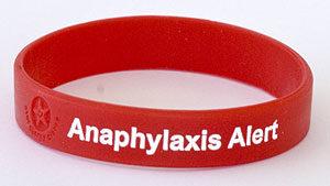 Anaphylaxis alert
