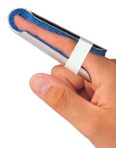 Finger splinting